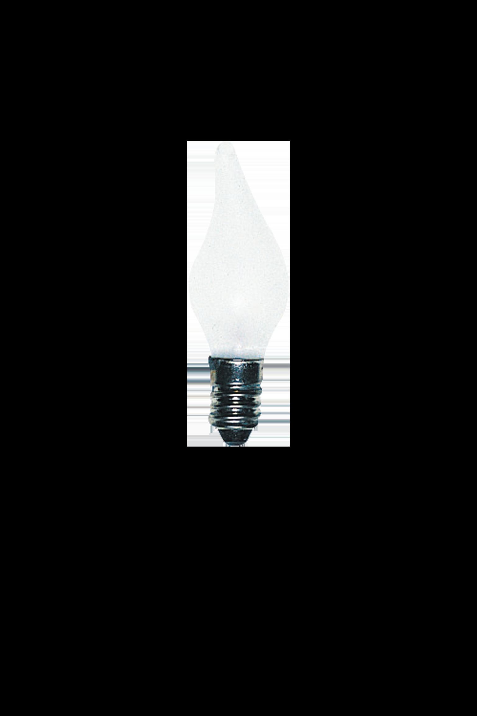 Bulb - E10 3W 55V Frost - 3-Pack