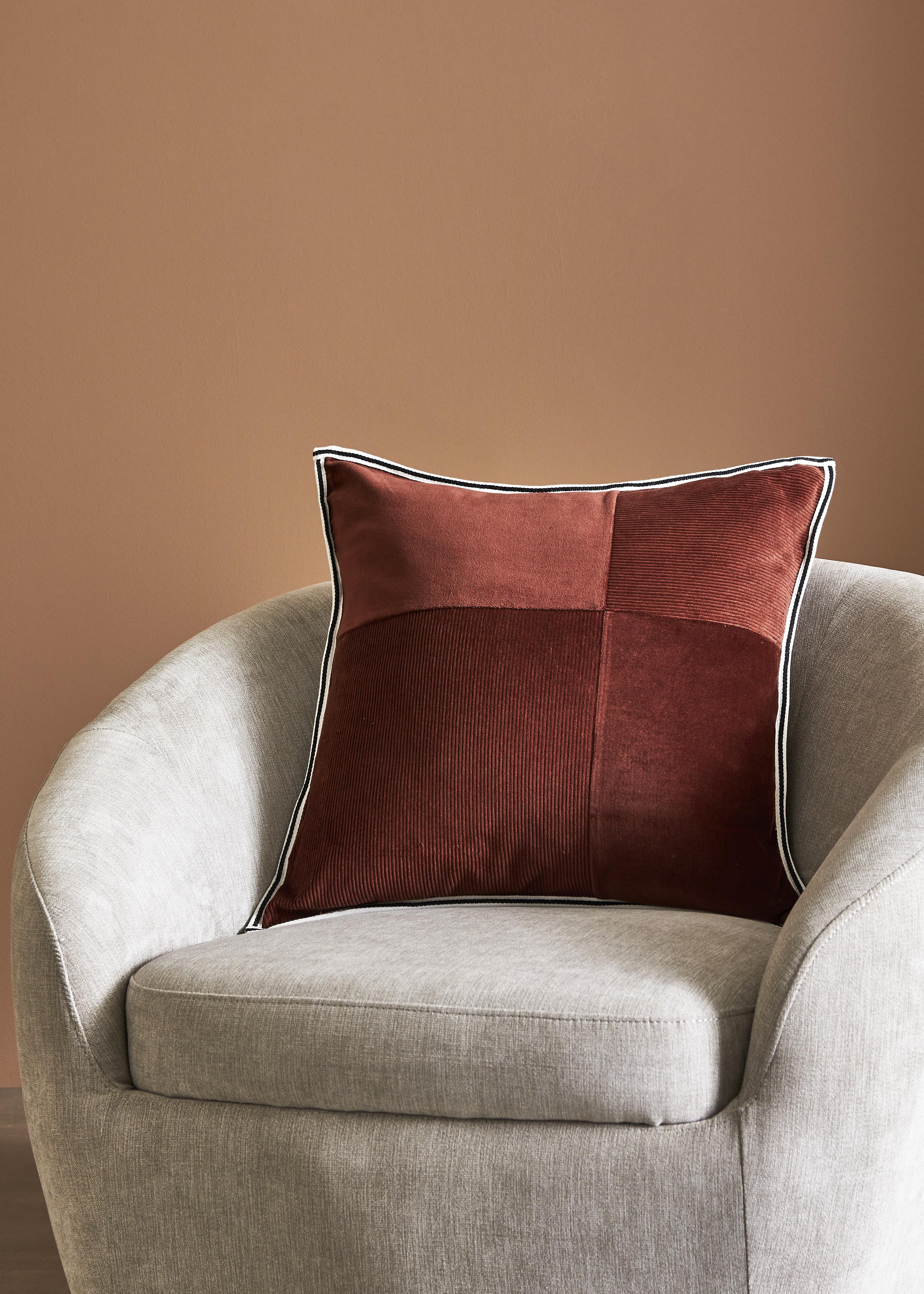 ARNA - Cushion Velvet Red 50x50cm