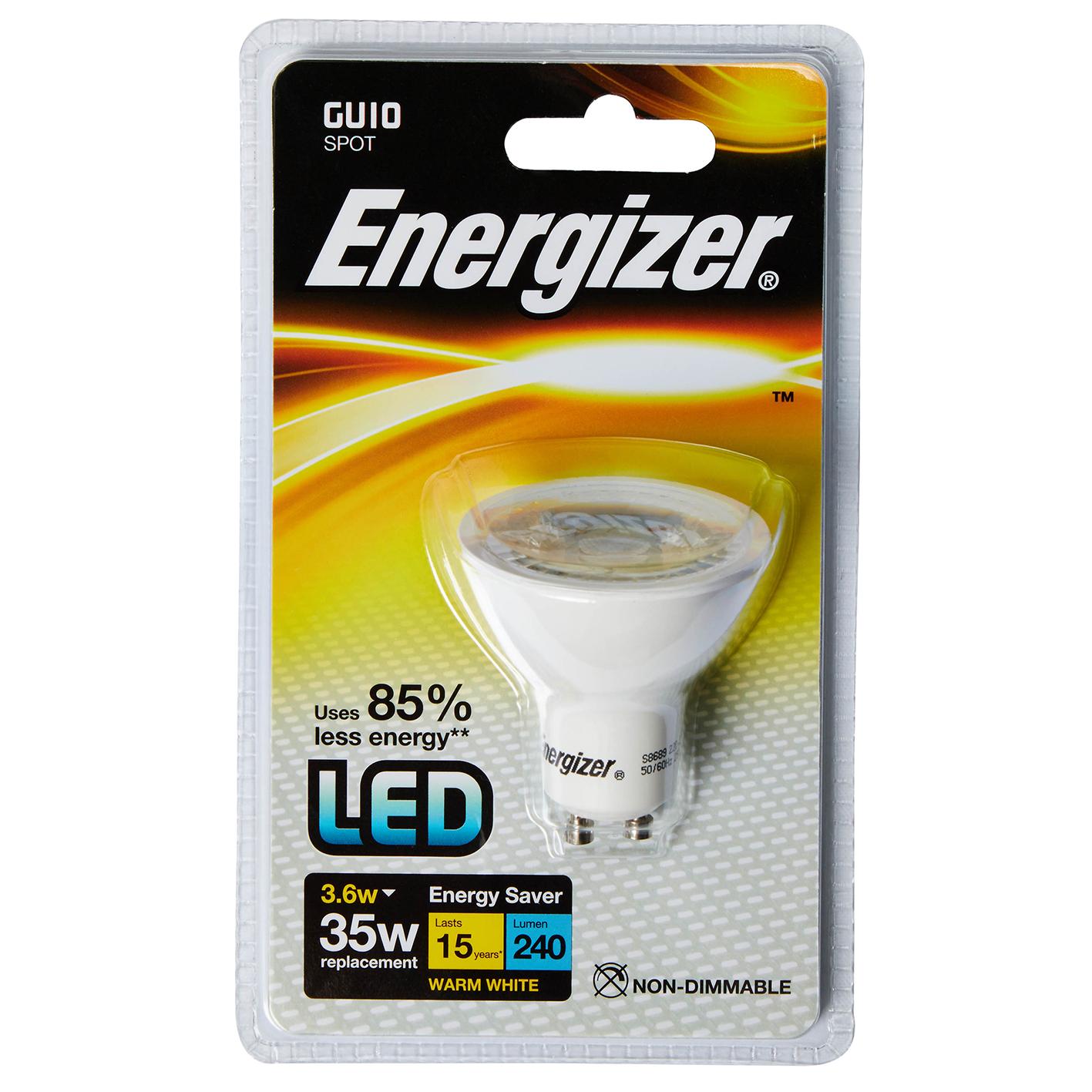 ENERGIZER GU10 35W
