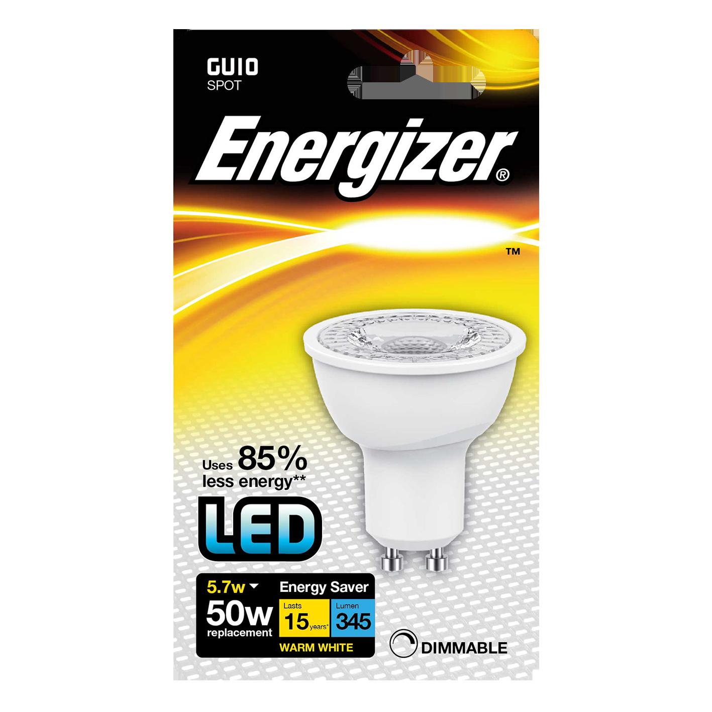 ENERGIZER DIMBAR GU10 50W