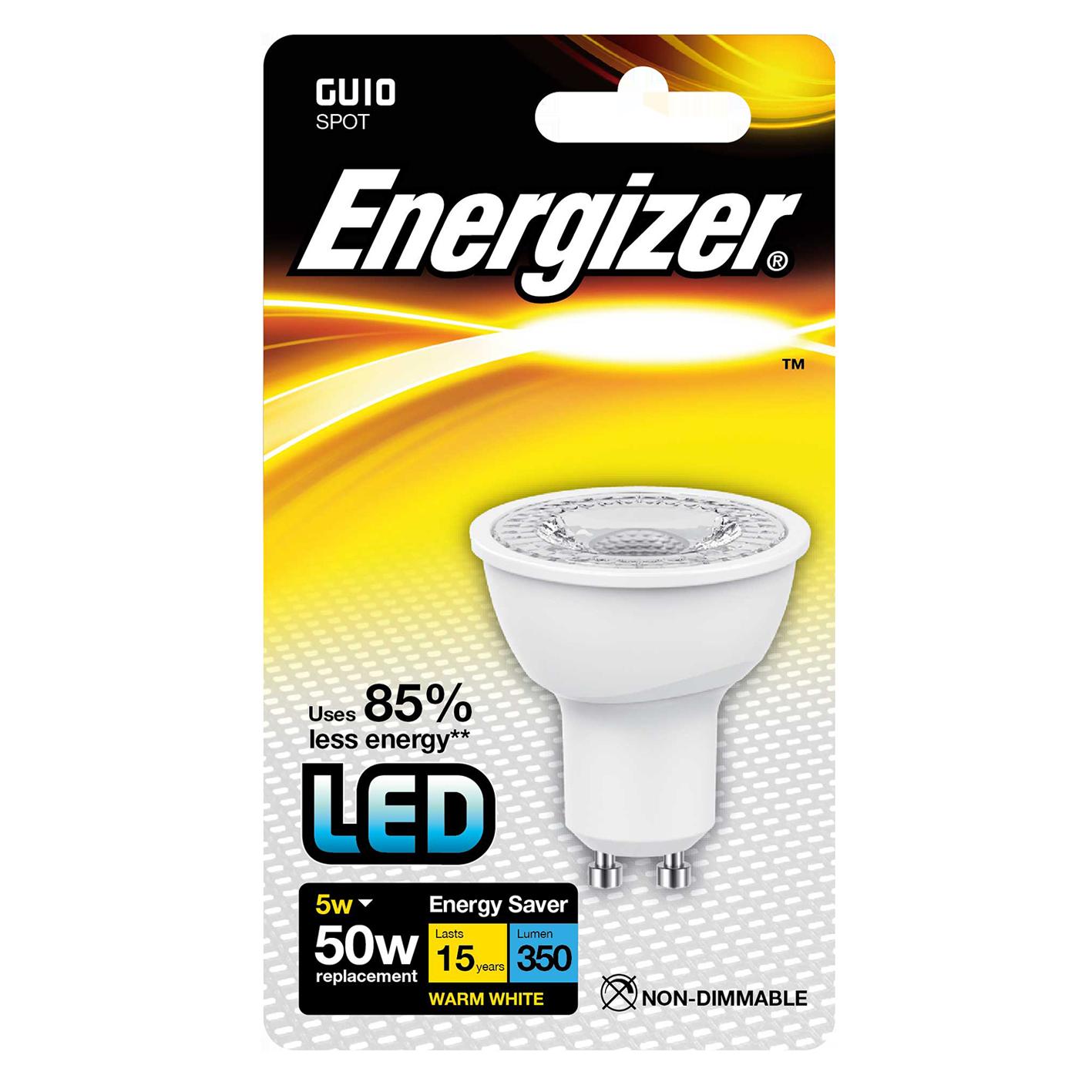 ENERGIZER GU10 50W