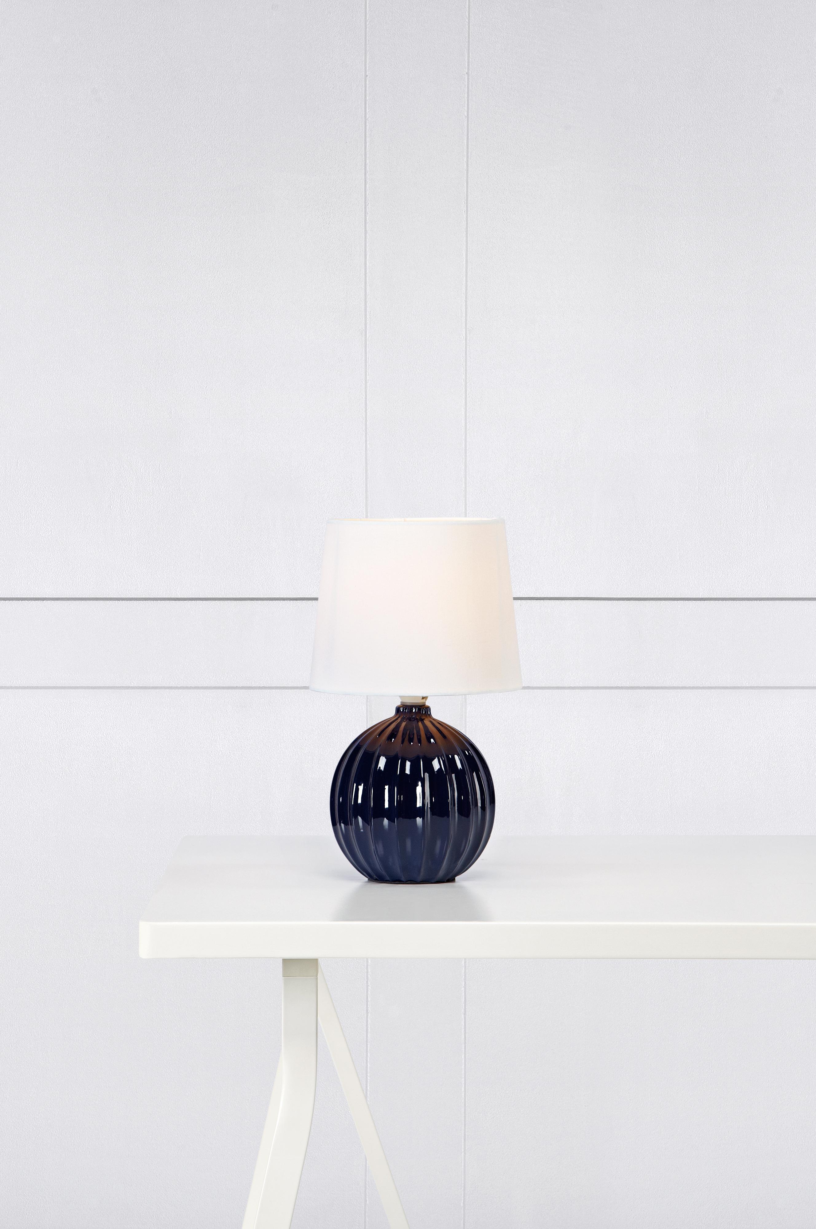 MELANIE - Ceramic Blue/White