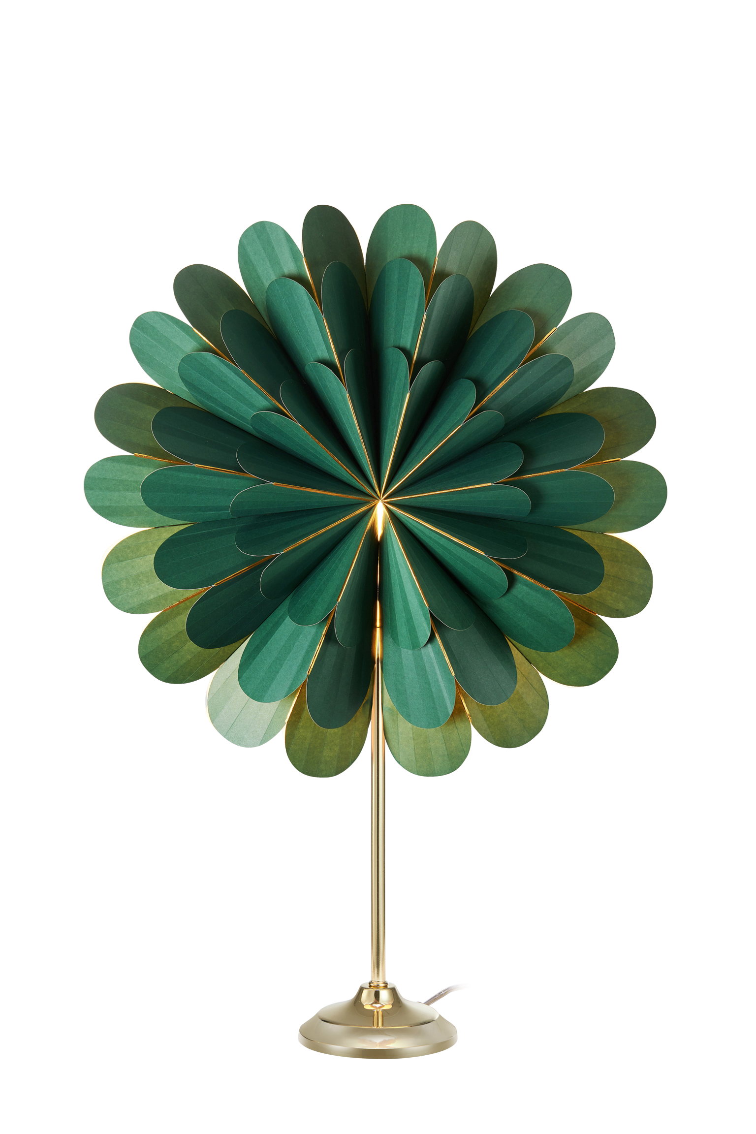 MARIGOLD - Table Green/Brass