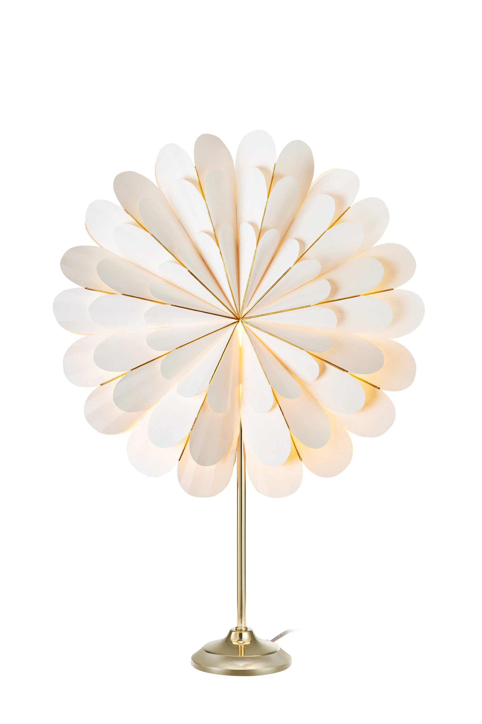 MARIGOLD - Table White/Brass