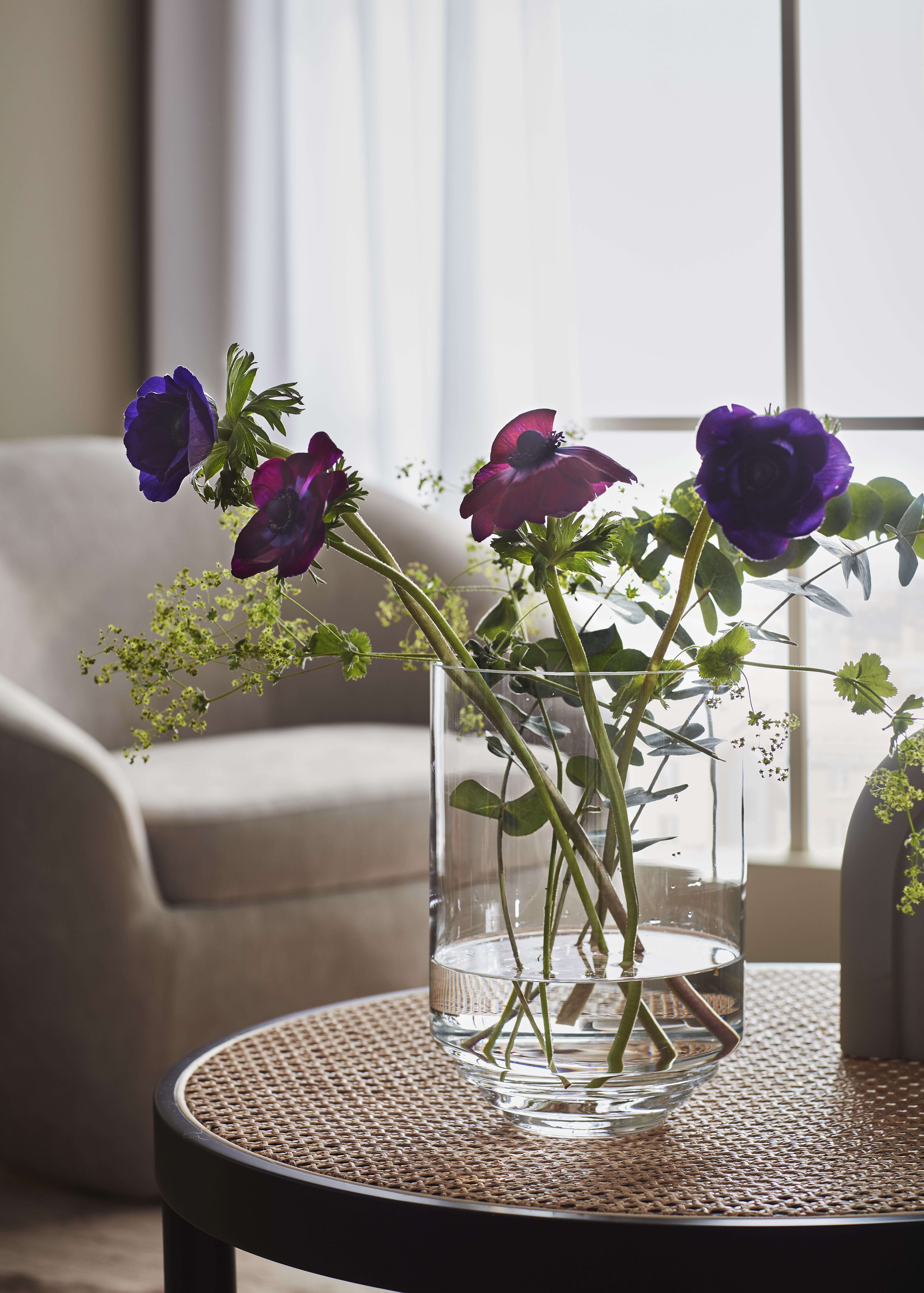 KLIPPA - Handmade Vase Glass 25cm