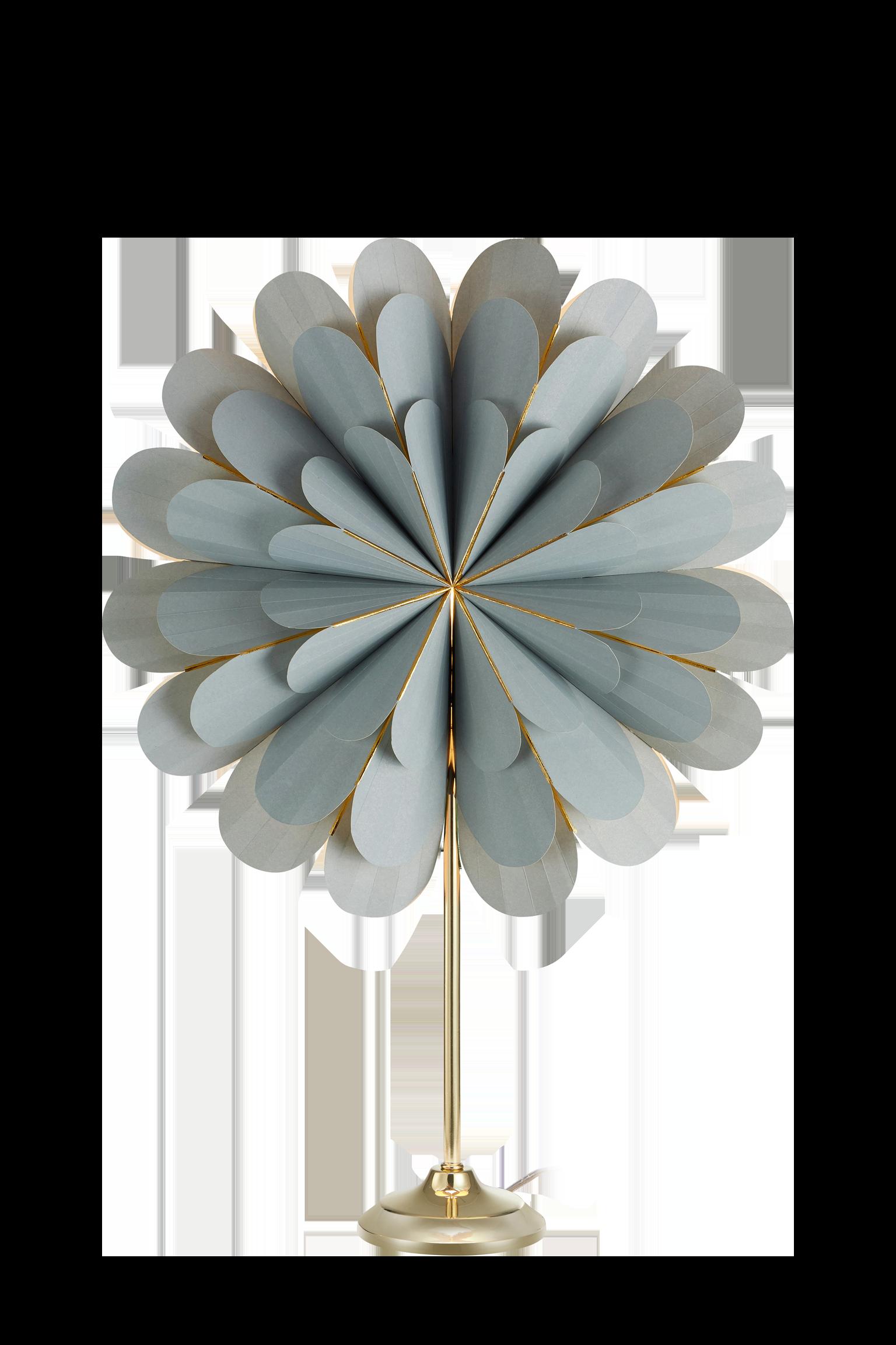 MARIGOLD - Table Grey/Brass