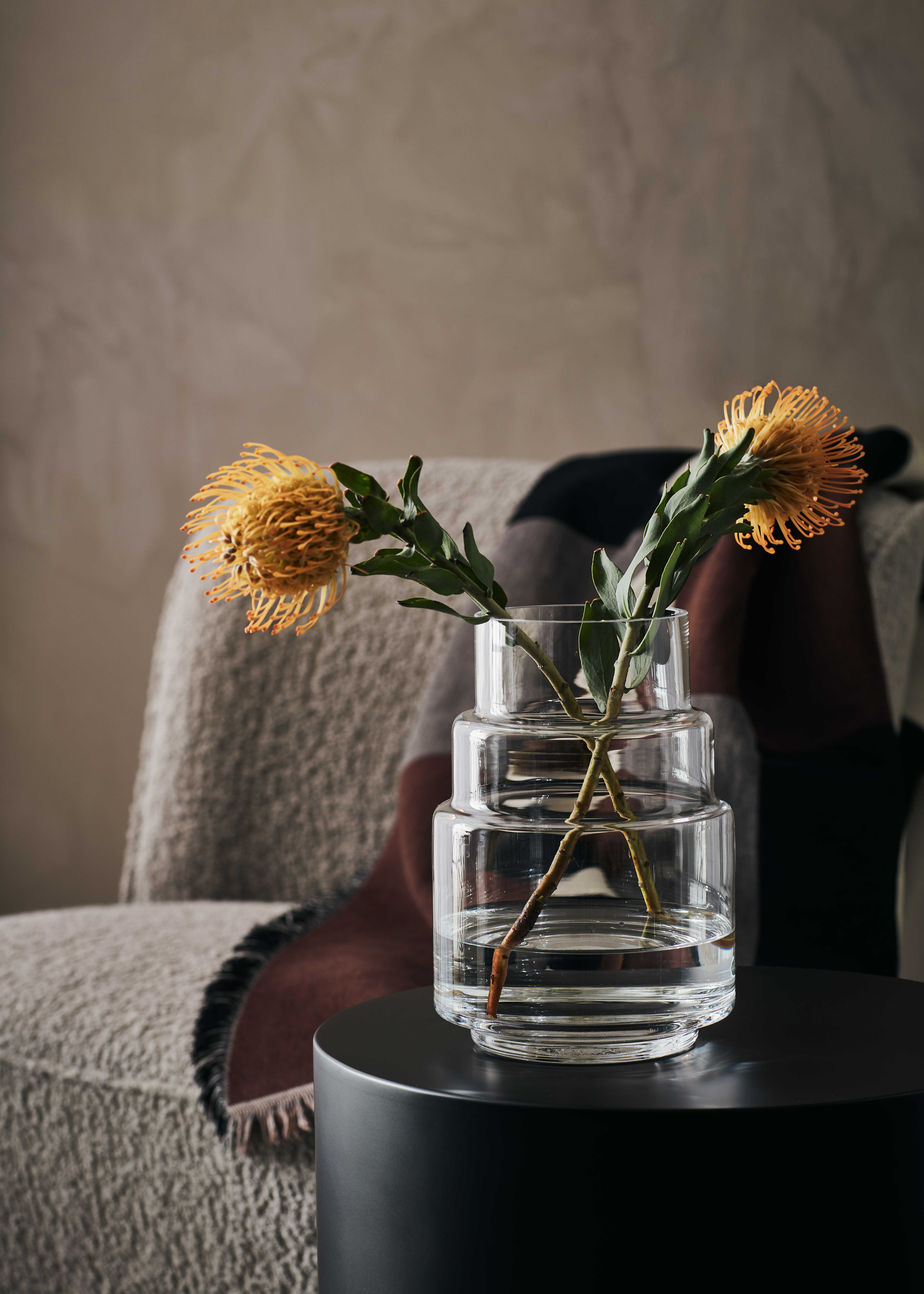 GLIMMER - Handmade Glass 23cm