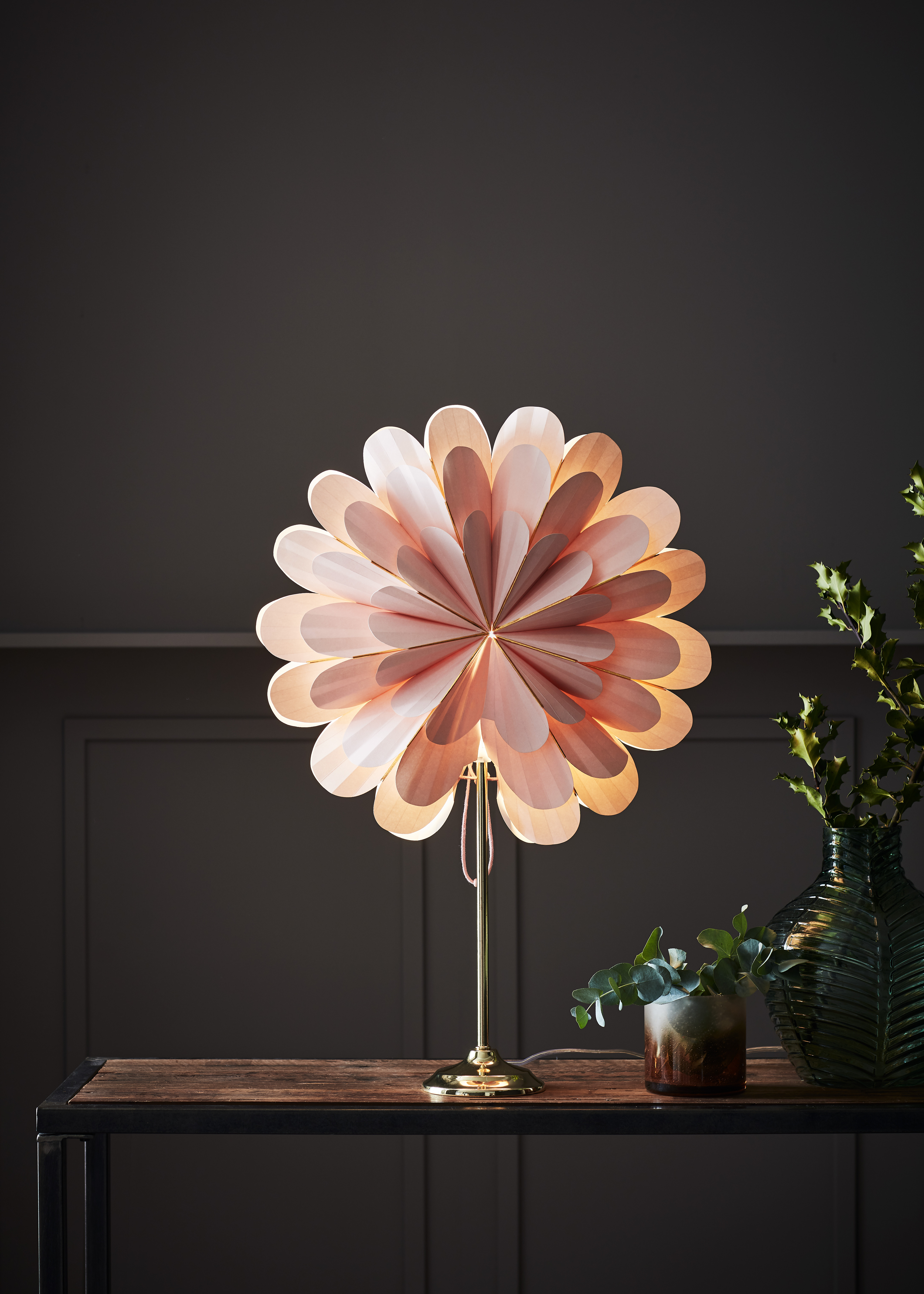 MARIGOLD - Table Pink/Brass